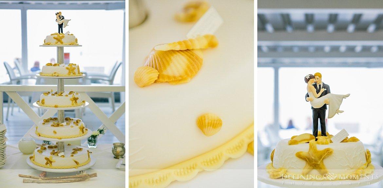 bruidstaart geel trouwfotograaf strandclub doen bruidsfotograaf scheveningen strand trouwreportage nieuwe_badkapel bruidsreportage den_haag journalistieke reportage documentaire bruidsfotografie