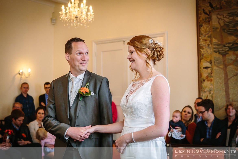 trouw huwelijk huwelijksfotograaf trouwreportage gemeentehuis hulst wet ja-woord