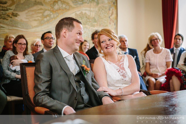 trouw huwelijk huwelijksfotograaf wettelijk huwelijk gemeentehuis hulst ja-woord