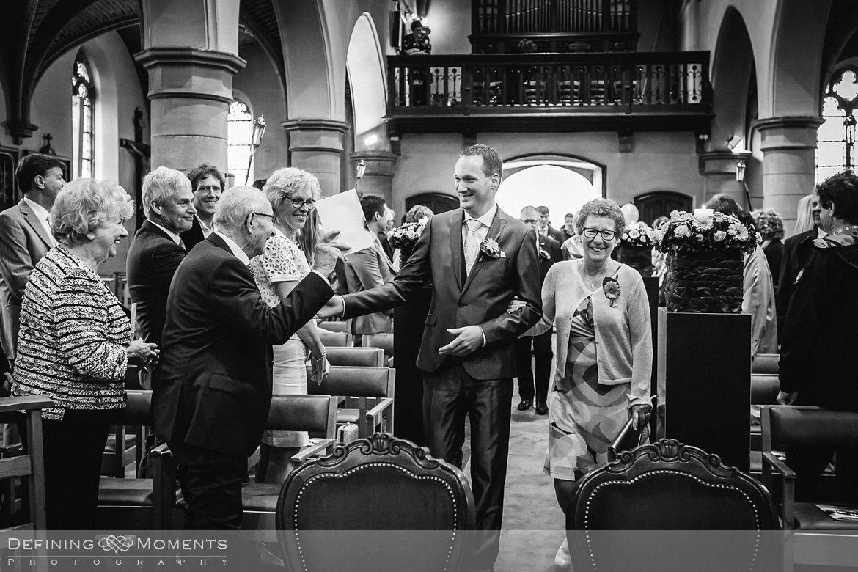 trouw huwelijk huwelijksfotograaf kerk uitbergen
