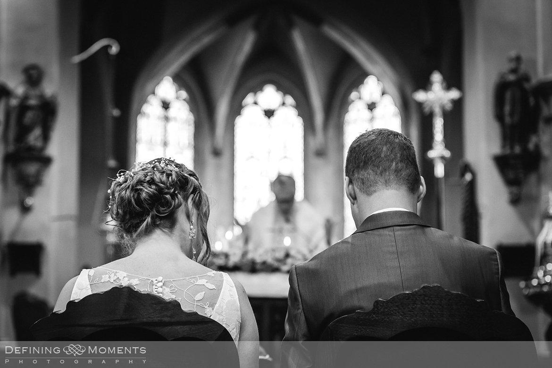 trouw huwelijk huwelijksfotograaf trouwreportage inzegening kerk uitbergen