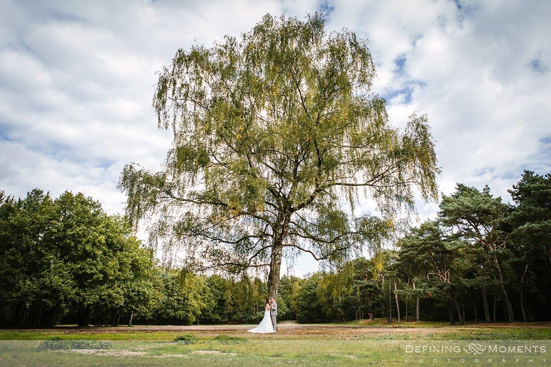 trouwfotograaf bruidsfotograaf eindhoven bruidspaar trouwreportage bruidsreportage watermolen_van_opwetten nuenen bruidsfoto trouwfoto wedding photographer netherlands holland berkenboom