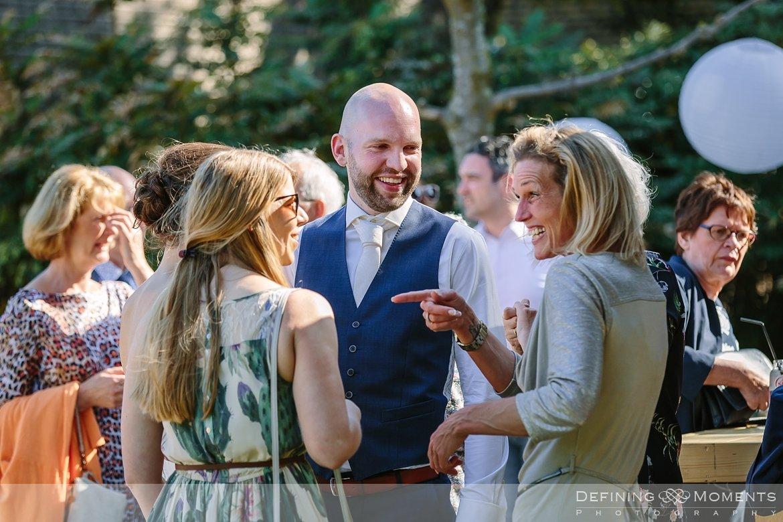 bruidspaar receptie bruidsreportage trouwfotografie korenmolen princenhage breda authentieke ongeposeerde spontane trouwfotografie documentair trouwfotograaf bruidsfotograaf twee fotografen duo